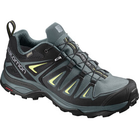Salomon X Ultra 3 GTX Sko Damer, artic/darkest spruce/sunny lime